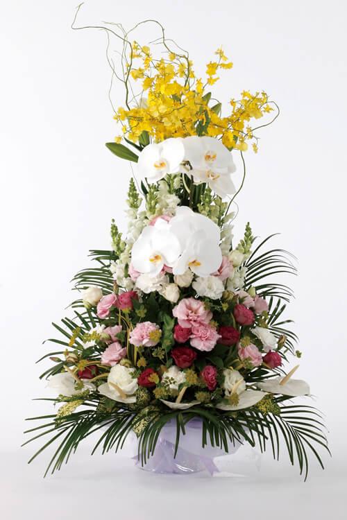 生花No.70 アレンジ生花【札幌のやわらぎ斎場へお届け】