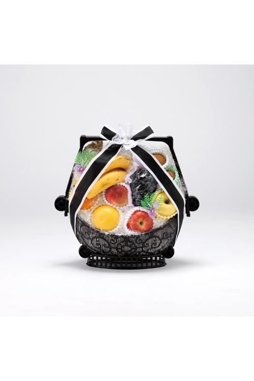 No.165 盛かご 果物【名寄のやわらぎ斎場へお届け】