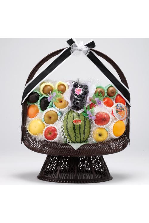No.175 盛かご 果物【名寄のやわらぎ斎場へお届け】