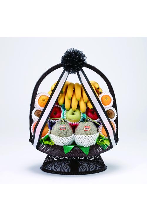 No.170 盛かご 果物【札幌のやわらぎ斎場へお届け】