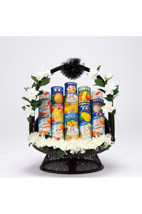 No.368 盛かご 缶詰【滝川・深川のやわらぎ斎場へお届け】