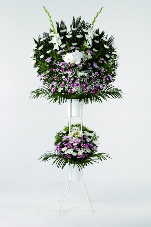 生花No.45 スタンド生花【札幌のやわらぎ斎場へお届け】
